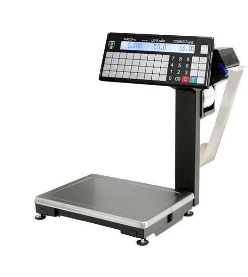 Изображение Весы с печатью этикетки ВПМ-15.2-Т1  (MF)