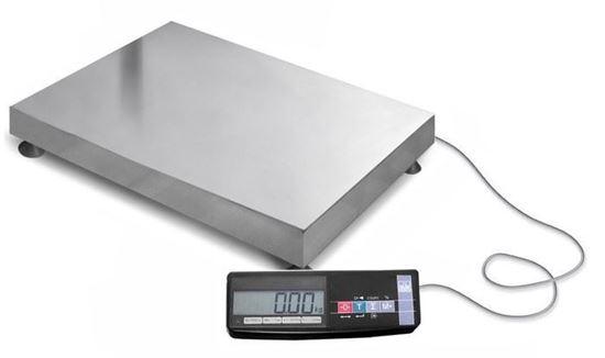Изображение Весы электронные товарные ТВ-М-600-А1 с АКБ (600кг х 200г)