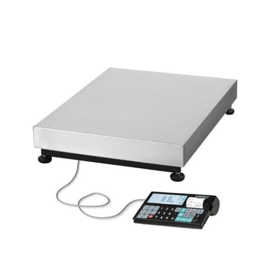 Изображение Весы электронные товарные ТВ-М-600-А3 с АКБ (600кг х 200г)