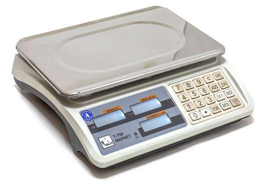 Изображение Весы торговые без стойки ФорТ-Т 769 (15;2) LCD Маркет