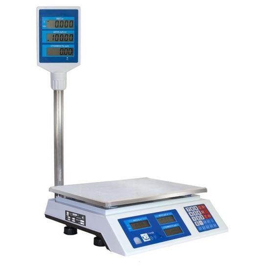 Изображение Весы торговые со стойкой ФорТ-Т 870B (32;5) LCD