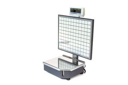 Изображение Весы с печатью этикетки Штрих-Принт 15-2,5 Д1(с верхней клавиатурой)