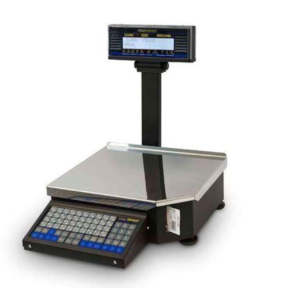 Изображение Весы электронные торговые Штрих-Принт М15-2,5 Д1 с печатью этикеток