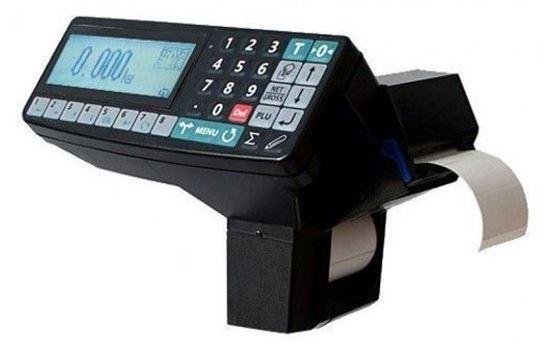 Изображение Весы терминал с весовым регистратором RP (МАССА-К), с печатью этикеток