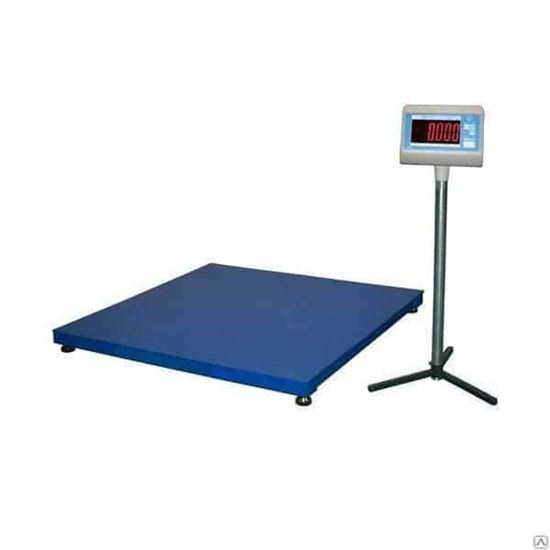 Изображение Весы платформенные ВСП-4-3000(1,25х1,25) с АКБ