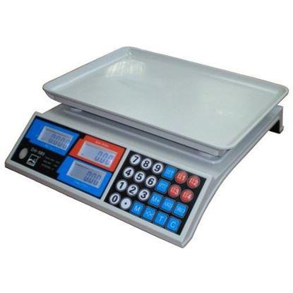Изображение Весы бытовые GreatRiver DH-585 (30кг/5г) LCD жк.. пластм. поддон
