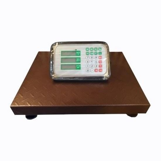 Изображение Весы бытовые GreatRiver DH-702А (300кг/50г) LCD жк.радиоканал