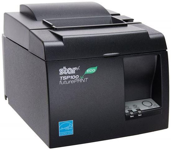 Изображение Принтер рулонной печати Star TSP143LAN с автоотрезом, с блоком питания