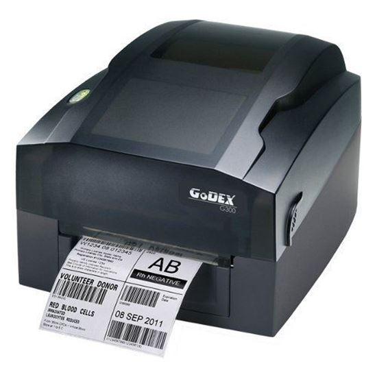 Изображение Принтер термоэтикеток GODEX G300(термо-трансфер., RS-232, USB, Ethernet)